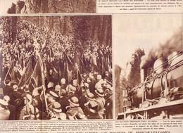 Orig. Knipsel Coupure Tijdschrift Magazine - Marche Les Dames - Mort Du Roi Albert - 1935 - Non Classificati