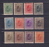 YUGOSLAVIA 1926, Mi# 188-199, CV €300, Personalities, MH - Ungebraucht