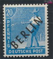 Berlin (West) 8 Geprüft Postfrisch 1948 Schwarzaufdruck (9532223 - Neufs
