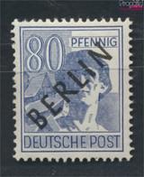 Berlin (West) 15 Geprüft Postfrisch 1948 Schwarzaufdruck (9532234 - Neufs