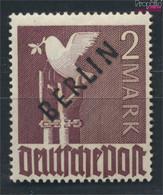 Berlin (West) 18 Geprüft Postfrisch 1948 Schwarzaufdruck (9532238 - Neufs