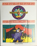 Uganda 1992 Disney Mickey's World Tour Minisheet MNH - Uganda (1962-...)