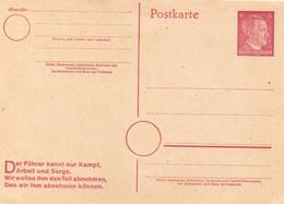 DC5694 - Ak Adolf Hitler Ganzsache - Guerra 1939-45