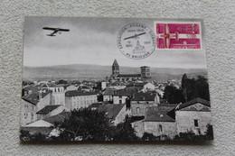 Cpm, Brioude, Raid Du 8 Mars 1912 Par L'aviateur Eugène Gilbert, Haute Loire - Brioude