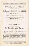 Achel: 'Ter Herinnering Aan Het Jubelfeest Ter Eere Van Den Heiligen Antonius Van Padua - Devotion Images
