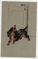 Illustrateurs Non Signés //  Chien (carte Fantaisie) - 1900-1949