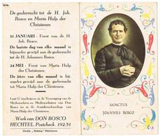 Hechtel: 'Werk Van Don Bosco' 2 ( 4 Items , 8 Scans) - Devotion Images