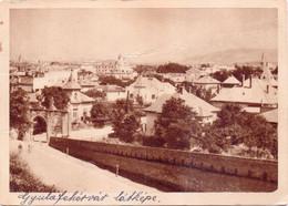 Seltene ALTE  AK   ALBA JULIA - Gyulafehervar / Rumänien  -  Teilansicht  -  1956 Gelaufen - Rumania