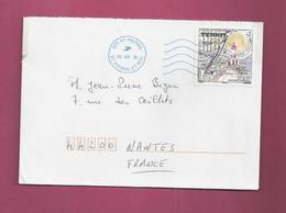 Lettre De 2010 Pour La France. YT N° 955 - Tennis - Phare - Non Classificati