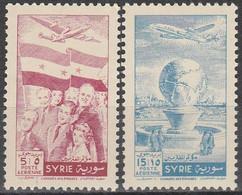 SYRIA..1955..Michel # 662-663..MNH. - Syria