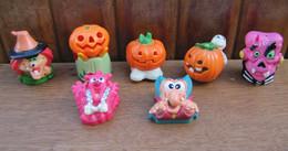 Kinder 2005 Série : Halloween : 7 Figurines Avec 6 BPZ - Lotti