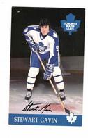 "Toronto, Ontario, Canada, Toronto Maple Leafs ""Stewart Gavin"", Old Chrome Postcard - Deportes De Invierno"
