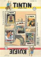Belg. 2016 - COB N° BL 242 ** - Le Journal Tintin (timbres 4626 à 4630) - Kuifje - Nuevos