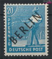 Berlin (West) 8 Postfrisch 1948 Schwarzaufdruck (9532222 - Neufs