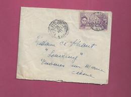 Lettre De 1932 Pour La France. YT N° 85 - Exposition Coloniale De Paris - Cartas