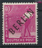 Berlin (West) 12 Postfrisch 1948 Schwarzaufdruck (9532231 - Neufs