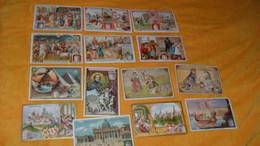 LOT 14 CHROMOS OU IMAGES ANCIENNES DATE ?../ LE VERITABLE EXTRAIT DE VIANDE LIEBIG..DIVERS SUJETS... - Liebig
