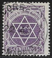 Lot N°W648 Colonies Maroc Poste Locale N°105a Oblitéré Qualité TB - Locals & Carriers