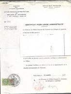 Timbre Fiscal  Fiscaux  Réfugiés  Apatrides - Revenue Stamps