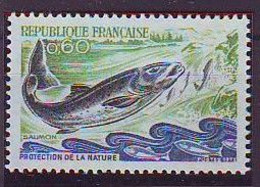 FRANCE 1794,unused,fishes - Peces