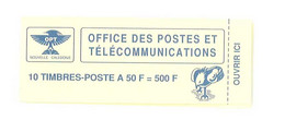 Carnet Nouvelle Calédonie - Carnet 10 Timbres-poste à 50 F - Y&T : C 588 - Altri