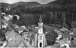 65 - LOURES BAROUSSE : L'Eglise - CPSM Village ( 630 H ) Dentelée Noir Blanc Format CPA - Hautes Pyrenées - Other Municipalities