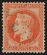 N°31, Oblitéré ANCRE BLEUE Cachet Maritime - SUPERBE - Lauré 40c Orange - 1863-1870 Napoleone III Con Gli Allori