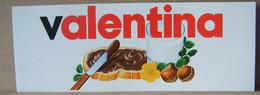 ADESIVI NUTELLA NOMI, VALENTINA - Nutella