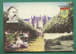 24 La Coquille Eugene Le Roy - La Barde L'usine - Orpailleur ( Carte Du Salon Multicollections Jumilhac Le Grand ) - Entertainers
