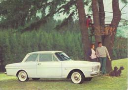 Ford Taunus 12M   -  Publicite D'epoque  -  Factory Sales Card  -    Carte Postale Modern - Passenger Cars