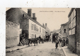 CHATILLON-SUR-LOIRE RUE MARTIAL-VUIDET (DILIGENCE) - Chatillon Sur Loire