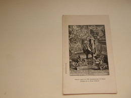 Carte ( 1623 )  Thème Religion Sainte  Saint  Heilige  :  Saint Donat   Arlon - Santos