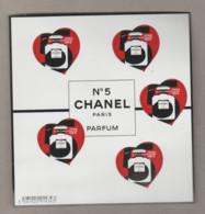 """FRANCE / 2021 / Y&T N° 5464 ** X 5 En Bloc F5464 ** (Feuillet """"Chanel N°5"""" De 5 TP) X 1 - Unclassified"""