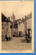 15 -  Cantal - Chaudesaigues -  La Place Et L'Hotel Valette  (N3203) - Altri Comuni