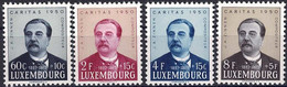 Luxembourg, Luxemburg 1950 CARITAS J.A.Zinnen Série Neuf MNH** Val.catalogue:40€ - Unused Stamps