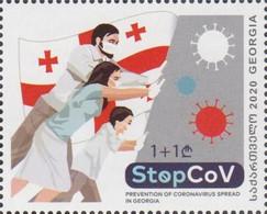 Georgia 2020 2021 Mi#   StopCov Coronavirus COVID-19 * * NEW !!! - Georgia
