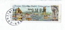 """Vigntte D'affranchissement LISA - Exposition """"JEUNESSE COLLECTION PASSION"""" à Villeneuve Sur Lot - 1999-2009 Vignette Illustrate"""