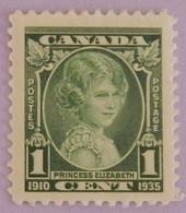 "CANADA YT 173 NEUF*MH ""PRINCESSE ELISABETH"" ANNÉE 1935 - Nuovi"