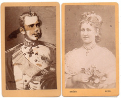 CDV Crown Prince Rudolf And Stephanie Of Belgium - Beroemde Personen