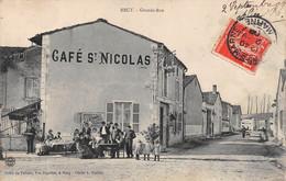Recy - Grande Rue  - Café St Nicolas - Sonstige Gemeinden