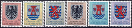 Luxembourg, Luxemburg 1956 Blasons Cantonaux Neuf MNH** Val.catalogue:15€ - Unused Stamps