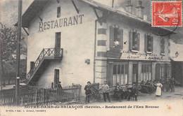 Notre Dame De Briançon - Restaurant De L'Eau Rousse - Sonstige Gemeinden