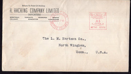 Canada - 1941 - Letter - Mechanical Postmark - H. Hacking Company Limited - Air Mail - A1RR2 - Cartas