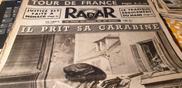 RADAR 51/RAMCKE CRIMINEL GUERRE/PATIN ROULETTES/TOUR FRANCE COPPI BOBETHAISNES LA BASSEE EXPLOSION/ SIAM MINISTRE/ - Non Classificati