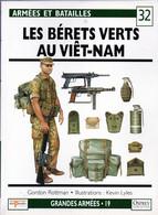 Osprey Del Prado N° 32 Les Bérets Verts Au Viêt-Nam - French
