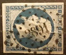 Empire No 14 B Obl Pc 2891 De SEYNE LES ALPES , Basses Alpes Haute Provence,  Indice 8, Belle Frappe TB - 1853-1860 Napoléon III