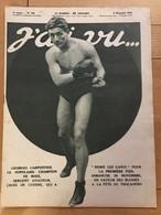 J'ai Vu - 9 Décembre 1916 - N°108 Georges Carpentier Boxe Sport - 1900 - 1949