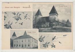 Merghindeal, Sibiu -  Mergeln,  Morgonda -  Jugendstill - Super Feldpost - Roemenië