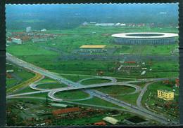"""The """"Senajan"""" Stadium -  Djakarta (carte Vierge) - Indonesia"""