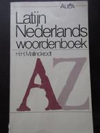 Latijn - Nederlands Woordenboek - Door H. Mallinckrodt - 1984 - Genealogie Heemkunde - Geschiedenis